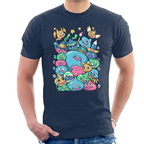 Cloud City 7 Dragon Quest Slime Party Men's T-Shirt