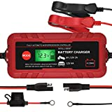 Best Battery Maintainers - Smart Battery Charger, 6V/12V Automotive Battery Charger, Portable Review