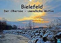 Bielefeld - Der Obersee - unendliche Motive... (Wandkalender 2022 DIN A3 quer): Seelandschaft in Bielefeld Schildesche (Monatskalender, 14 Seiten )
