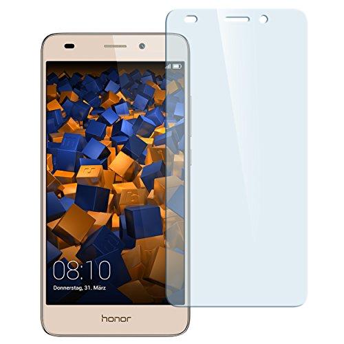 mumbi Hart Glas Folie kompatibel mit Huawei Honor 5C Panzerfolie, Schutzfolie Schutzglas (1x)
