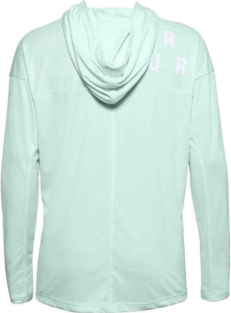 Under Armour Damen Tech Twist Hoodie mit Grafik Langarm-Shirt