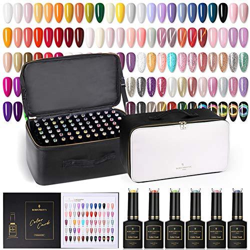BORN PRETTY Pro Vernis gels semi-permanents 120 couleurs gel à ongles de couleur pure multicolore UV nail art gel vernis gel vernis 15 ml