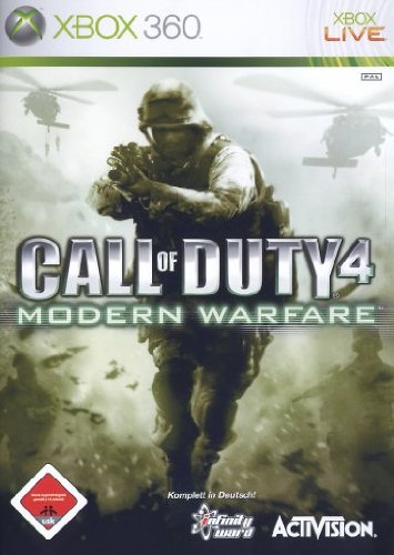 Activision Call of Duty 4 - Juego (Xbox 360, DEU)