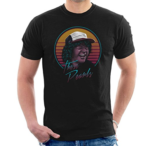Cloud City 7 These Pearls Dustin Stranger Things Men's T-Shi