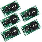 ICQUANZX 5pcs RTC DS1302 Module d'horloge en Temps réel pour Arduino AVR Bras PIC SMD Remplacer DS1307