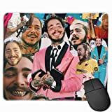 SYMSPAD ERYPONG Post Malone Collage Mouse Pad Mat 8.6 X 7.1 in
