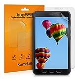 kwmobile 2X Folie kompatibel mit Samsung Galaxy Tab Active 3 - Full Screen Tablet Schutzfolie entspiegelt
