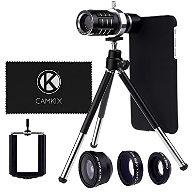 Camera Lens Kit for Apple iPhone 6 Plus / 6S Plus ONLY - 12x Telephoto Lens - MV from CamKix