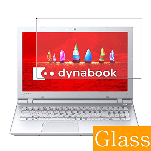 Synvy Tempered Glass Screen Protector for Toshiba dynabook T55 / V 2016 15.6' Visible Area Protective Screen Film Protectors 9H Anti-Scratch Bubble Free