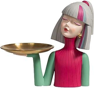 الحضري فتاة تمثال النحت ، الراتنج الإبداعية صورة صينية الحرف اليدوية نموذج مكتب غرفة المعيشة فيلا ال