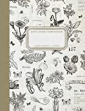 SAGE - Softcover Composition Notebook - Garden Collage: College Ruled   110 Pages