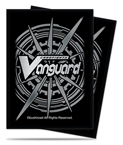 Cardfight!! Vanguard Silver Card Back Small Size Deck Protector Sleeves (65 count)