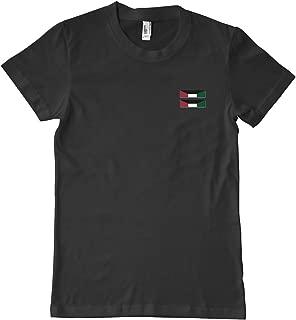 Luna Distributing US Army Kuwait Liberation Medal (Kuwait) Ribbon Military T-Shirt 100% Cotton Black