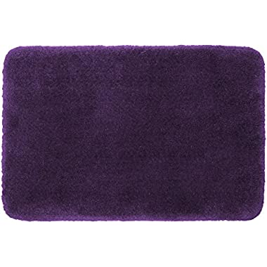 STAINMASTER TruSoft Luxurious Bath Rug, 17-By-24 Inch Sugar Plum