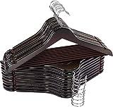 Utopia Home Premium Wooden Hangers...
