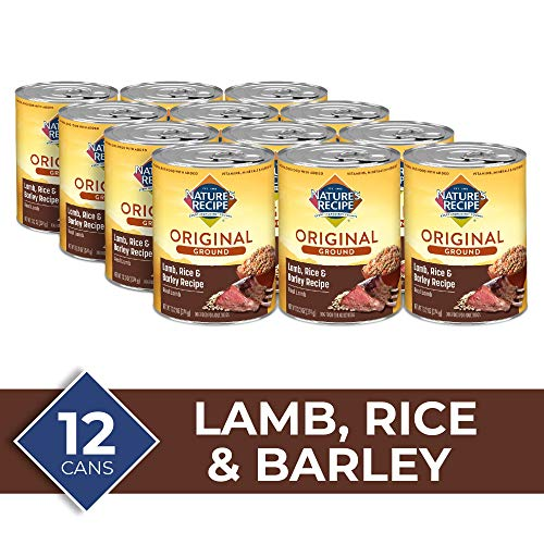 Nature's Recipe Easy to Digest Wet Dog Food, Lamb, Rice & Barley Recipe, 13.2 Ounce Can (Pack of 12)