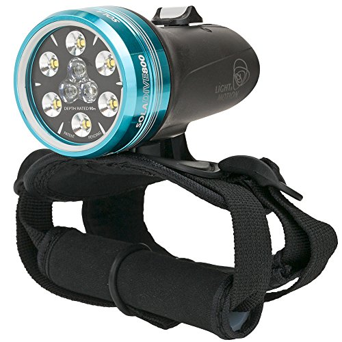 Light & Motion SOLA Dive 800 S/F Black Underwater Light