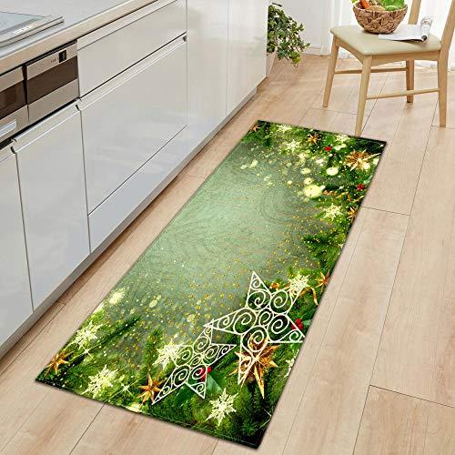 XIAOZHANG runner rug Chic creative plant decoration Coral Fleece modern Entrance Living Room Door Mat Bedroom Bathroom Kitchen Non slip washable utility 60x180CM