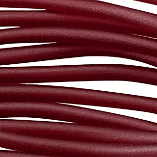 Soft Glass Tubing 2.5mm Ruby (10 Foot Piece)