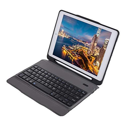 Goshyda Teclado inalámbrico con Funda, Funda de PU portátil con Teclado Compatible con Bluetooth Fit para iPad air2 / Pro9.7
