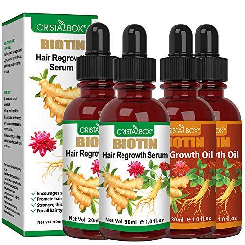 4 PACK Hair Growth Oil/ Serum,2021 Hair Growth,Stops Hair...