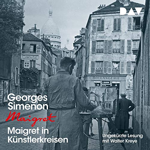 Maigret in Künstlerkreisen cover art