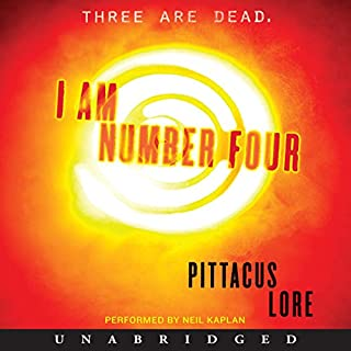 I Am Number Four cover art