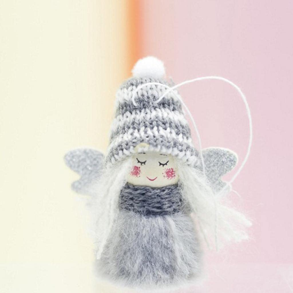 Our shop OFFers the best service Mini Cute Plush Angel Girl Pendants Ornaments Hom Minneapolis Mall Tree Christmas