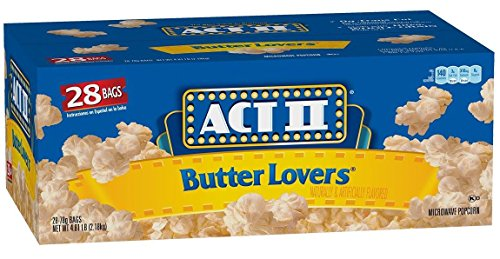 Check Out This ACT II Popcorn Butter Lovers, 2.75 oz Microwavable (Pack of 56)