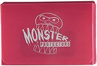 Monster Protectors Trading Card Double Deck Box with Magnetic Closure - Pink (Fits Yugioh, Pokemon, Magic the Gathering Cards)