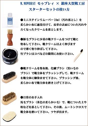 M.MOWBRAY×銀座大賀靴工房『シューケアセットスターターセット』