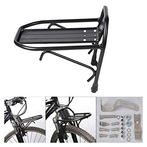 MNBV Rear Bike Rack Bike Luggage Rack Quick Release Adjustable Alloy Bike Carrier Quick Release Mountain Road Bike Rear Rack Bearing Capacity 44 Lbs Universal