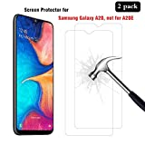 AHABIPERS [2 Pièces Samsung Galaxy A20 Verre trempé, HD Full Coverage Premium Film Protection, 9H Dureté, sans Bulles,...