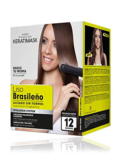 Be Natural - Kit Alisado Brasileño Keratimask - resultado