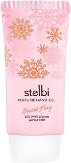 [stelbi] Perfume Hand Gel 50ml (Sweet Hug) - 3 in 1 (Perfume + Hand Sanitizer Gel + Hand Moisturizer), Fresh and Sweet Fruits Juice Scent, Cooling Hand Moisturizer
