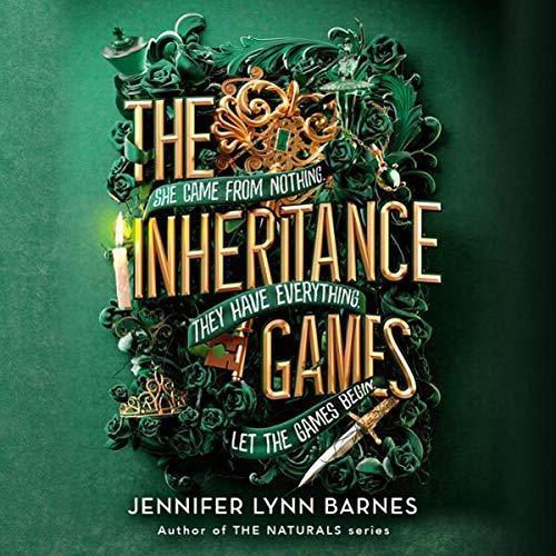 Inheritance Games audiobook cover art