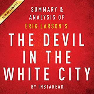 The Devil in the White City by Erik Larson: Summary & Analysis audiobook cover art