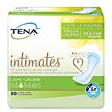 Tena Intimates Ultra Thin Light Incontinence Pad Regular 30 Ct (Pack of 6)