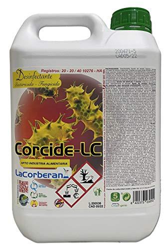 Desinfectante Corcide-LC Bactericida Fungicida 5L