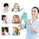 ZANGAO Adultes Enfants Lavage Nasal Cleaner Nez Sinusite Protecteur Nettoie humidifie...