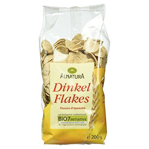 Alnatura Bio Dinkelflakes, 6er Pack (6 x 200 g)