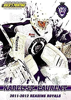(CI) Karel St. Laurent Hockey Card 2011-12 Reading Royals 1 Karel St. Laurent