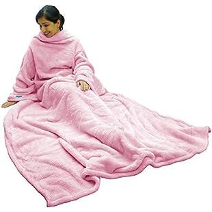 Ultimate Slanket - Pink Sleeved blanket with Sleeves