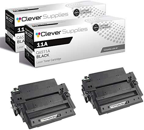 CS Compatible Toner Cartridge Replacement for HP 11A Q6511A Black Laserjet 2400 2400DN 2400D product image