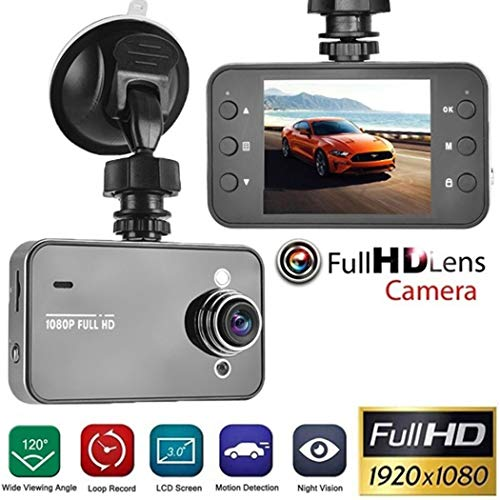 LEANO Multi-Function HD Driving Recorder K6000 Super Wide-Angle Night Vision in-Dash Mounting Kits
