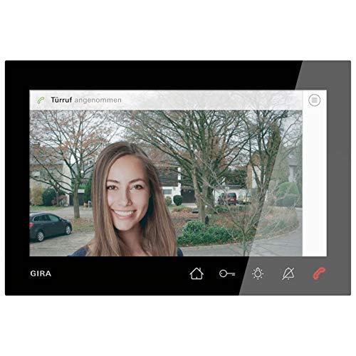 Gira Wohnungsstation Video AP 7 1209005 Türko sw System 55 Innenstation für Türkommunikation 4010337053408