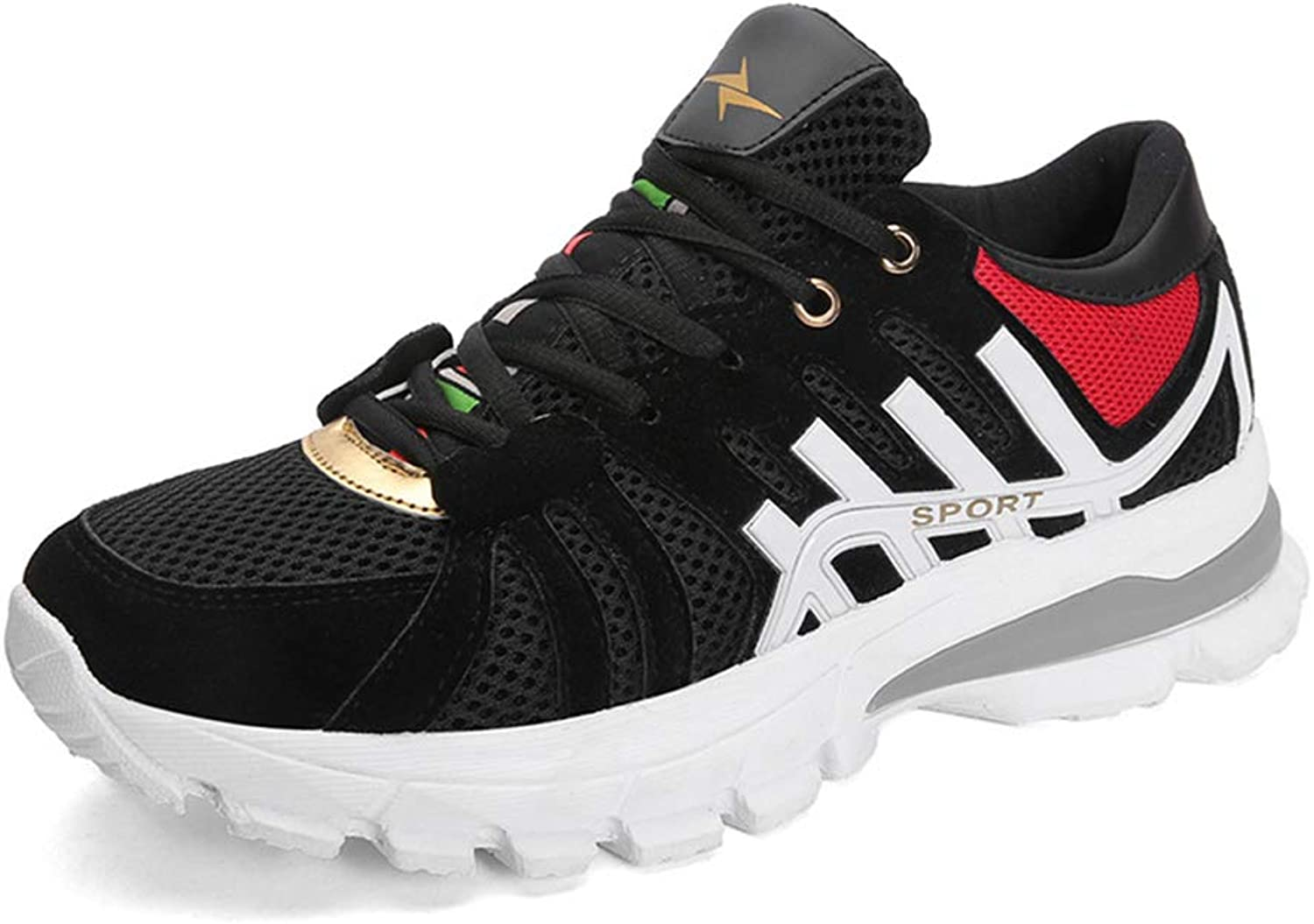 Men's shoes, Fashion Comfortable Casual shoes Travel shoes Spring Fall New Wild Breathable Sneakers Training shoes,B,43
