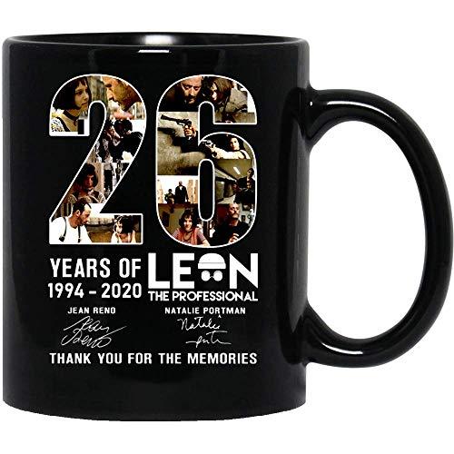 NA #Lacon Movie The #Professional 26 años de 1994-2020# Natalie #Portman #Jean Reno Taza de café Divertida para Mujeres y Hombres Tazas de té