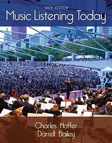 Compare Textbook Prices for Music Listening Today with Digital Music Download Printed Access Card for the 4 CD Set 6 Edition ISBN 9781285858128 by Hoffer, Charles,Bailey, Darrell
