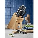 WMF Messerblock mit Messerset 7-teilig, Küchenmesser Set mit Messerhalter, 6 scharfe Messer, Bambus-Block, Spezialklingenstahl - 2